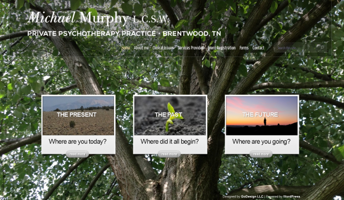 Michael Murphy LCSW Web Site
