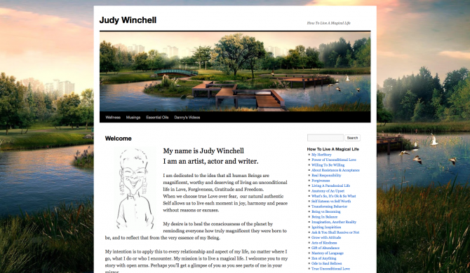 Judy Winchell Web Site