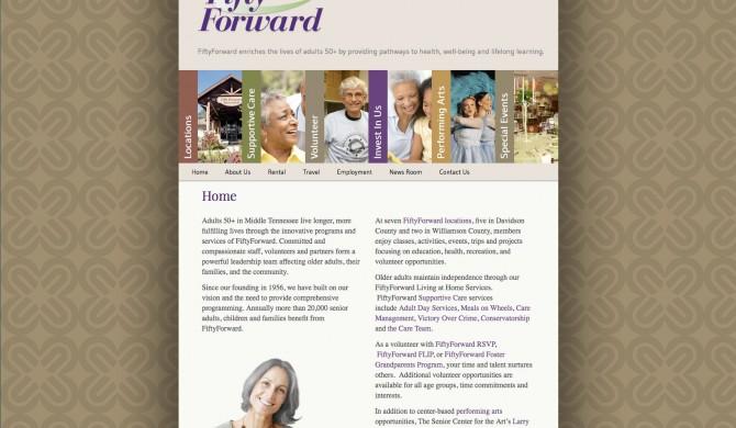 Fifty Forward Web Site