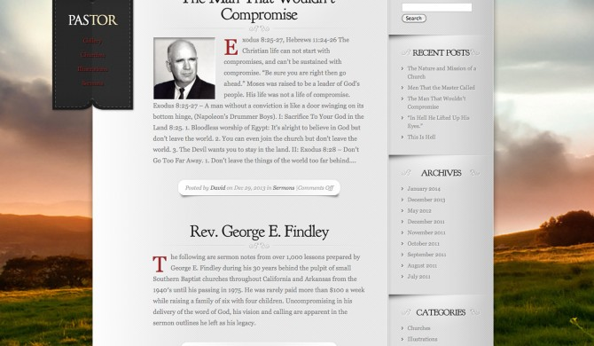 George Findley Web Site