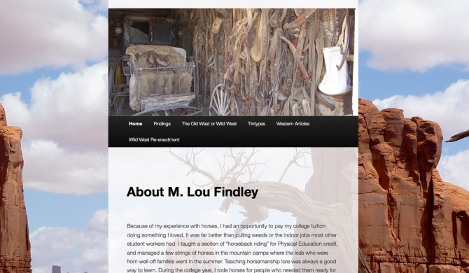 M Lou Findley Web Site