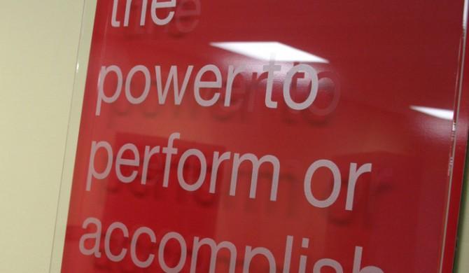 MNPS Boardroom Signage