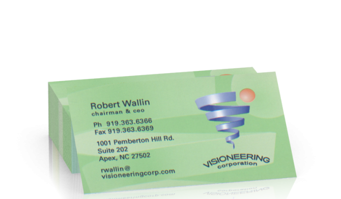 Visioneering Business Card