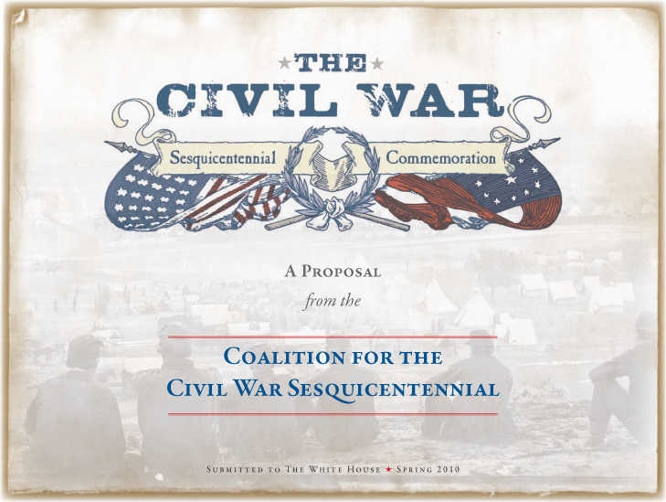 Coalition for the Civil War Sesquicentennial Proposal