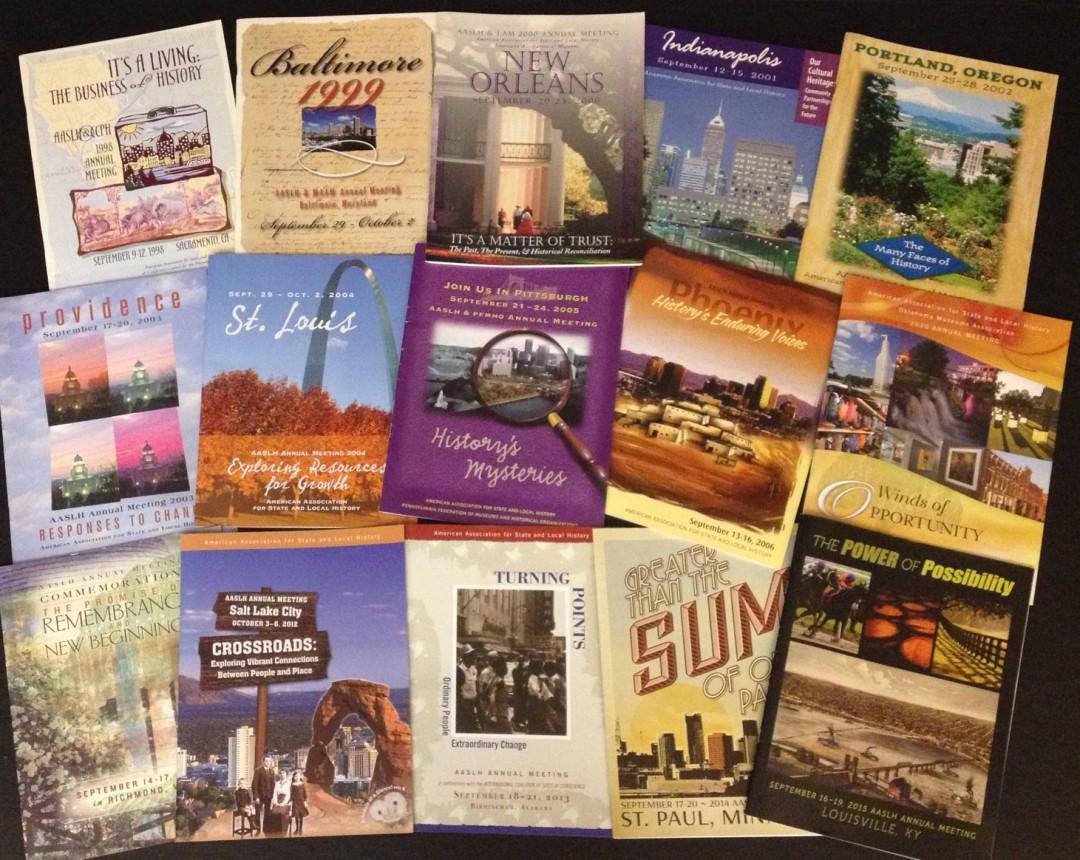 AASLH AM Covers1998-2015